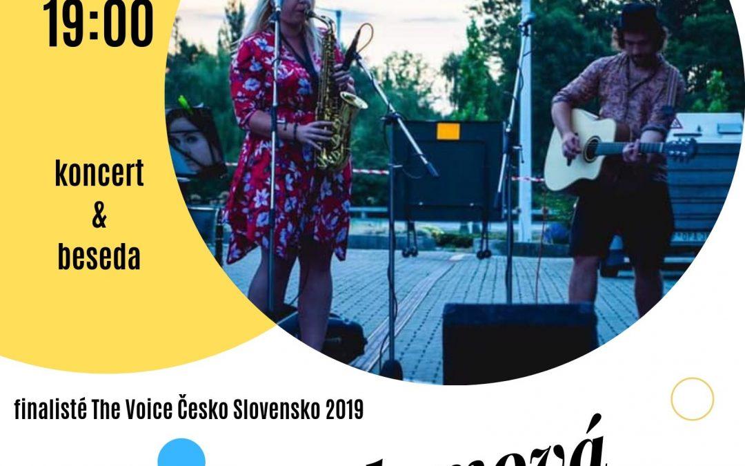 19.9. v 19 hodin pořádáme koncert finalistů The Voice 2019 Elišky Urbanové a Petra Juháse